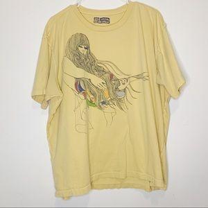 Levi's Red Tab Men's Girl Guitar Graphic T-Shirt